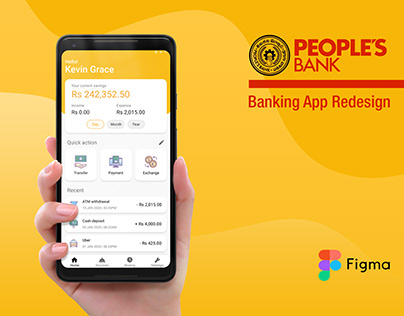 People's Bank Mobile App - Redesign