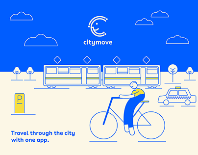 VISUAL IDENTITY AND APP DESIGN FOR CITYMOVE