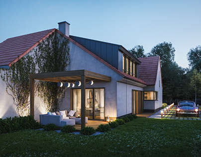Renovation of twin house in Oleśnica