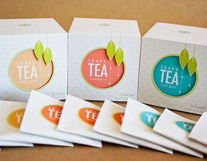 Leafy Tea - Packaging