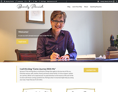 Web Design - Parrish