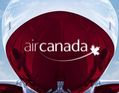 Brand design project Air Canada