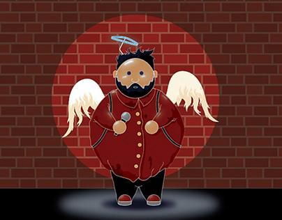 Divine Comedy Mascot