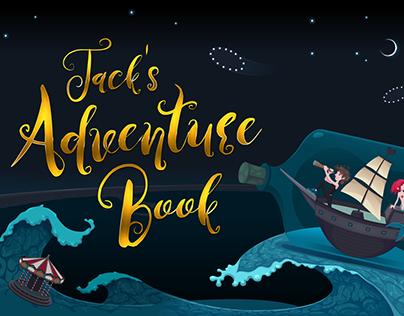 Jack's Adventure Book [FREE FONT]