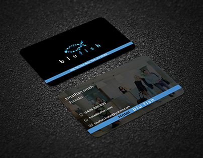 Five star hotel business card