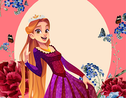 Princess Illustration