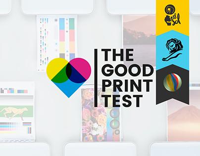 The Good Print Test by Worten