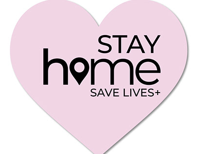 Stay home save lives +