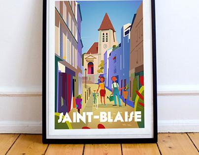 Saint-Blaise - Paris 20 ème