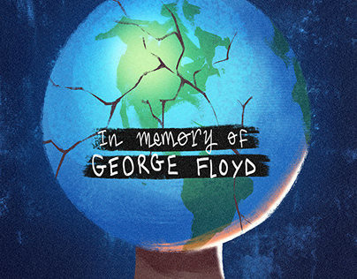 In memory of George Floyd