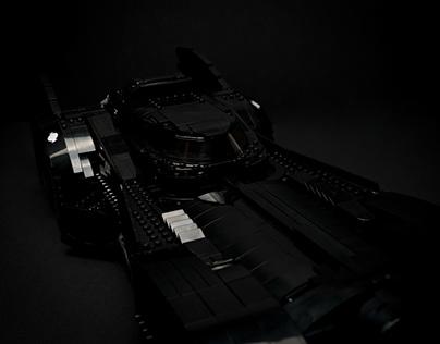 "Eigenprojekt ""Lego Batmobil"" / Product Shooting GFX"