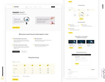 Web Design - Invest