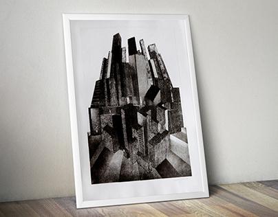 Metropolis | Aquatint