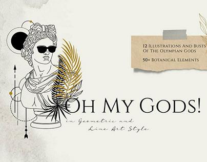 Oh My Gods by Tanya Butskaya