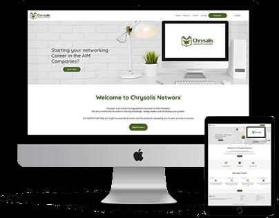 Chrysalis (Wordpress Web Development + Design)