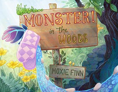 Monster in the Woods Children's Book