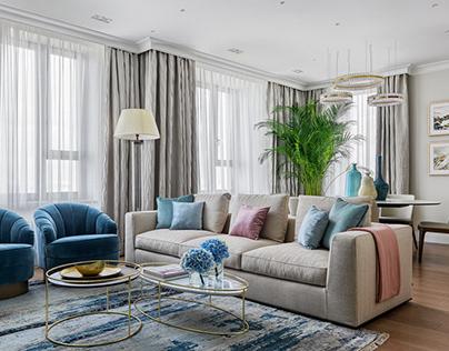 Apartment by Design Studio Rubleva Design