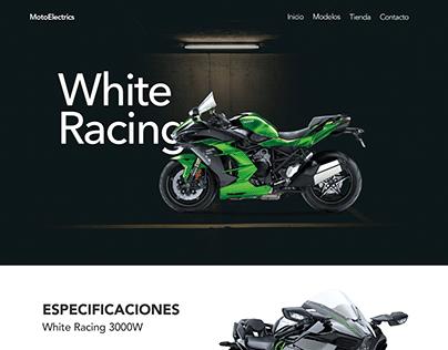 Landing Page MotoElectrics