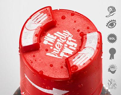 The Friendly Twist - Coca-Cola.