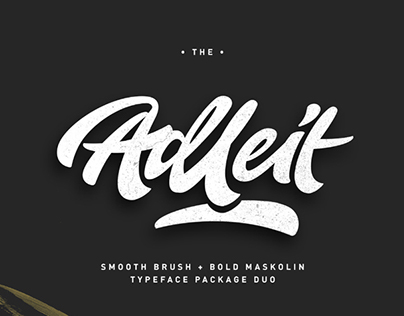 Free Aldeit Brush Script Free Demo