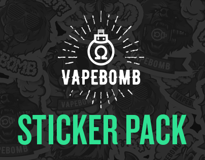 Vapebomb Stickers by Jester