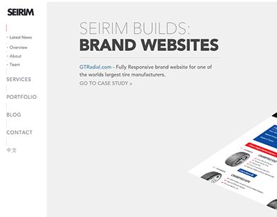 New Seirim Website