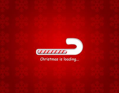 Christmas is loading