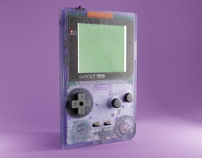 Gameboy Pocket 3d Model