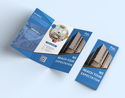 Corporate Business Tri-Fold Brochure