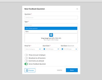 Questions feedbacks employees/employers