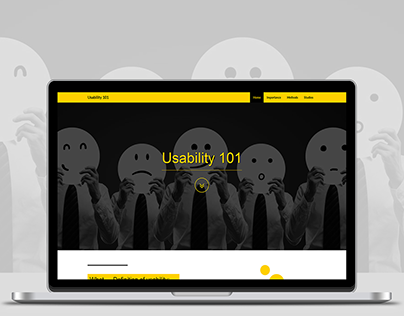 Usability 101 Website