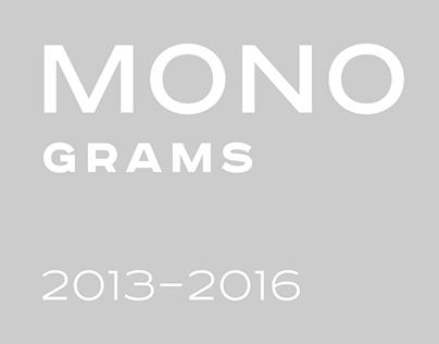 MONOGRAMS 2013–2016