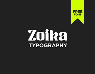 FREE | Zoika Typography