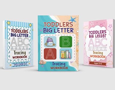 Toddlers big letter tracing workbook