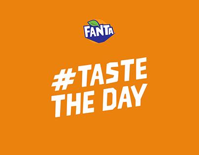 Fanta - #TasteTheDay