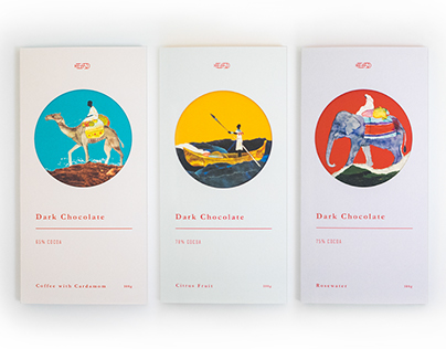 JS Dark Chocolate - Packaging design