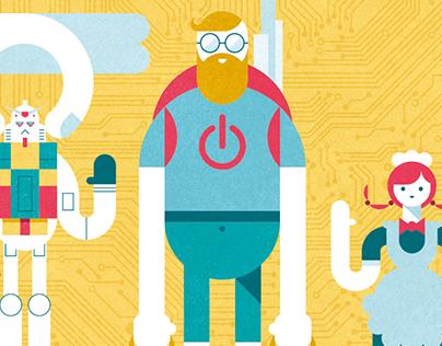 "Illustration for ""metropolitana Summer 2015"""