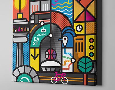 Influence Toronto Artwork