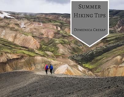 Summer Hiking Tips