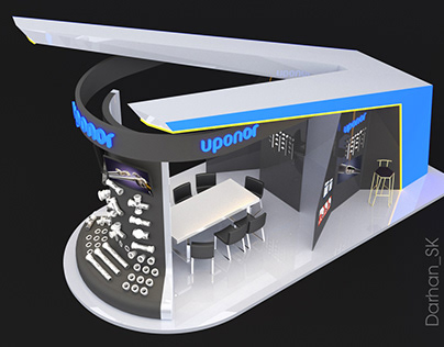 The design project of the exhibition pavilions