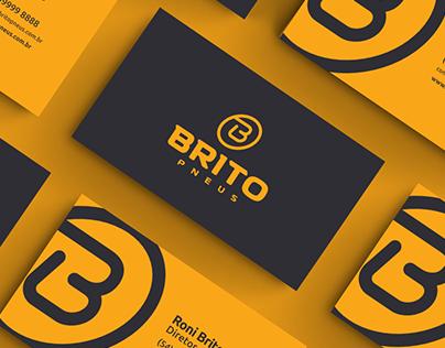 Brito Pneus (Tire Logo)