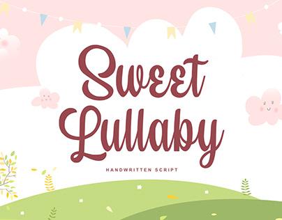 Sweet Lullaby Handwritten Script