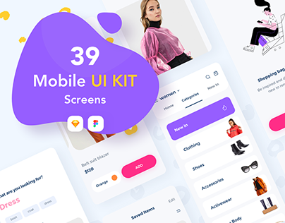 Clother E-commerce UI KIT