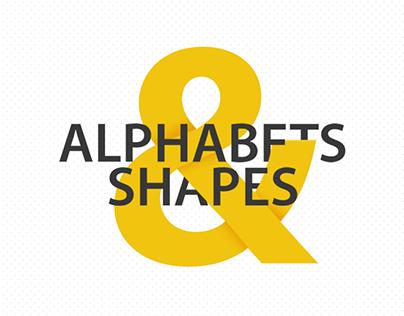 Alphabets & Shapes