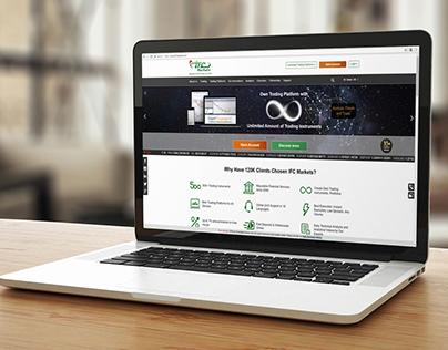 Ifcmarkets.com (website, brand book)