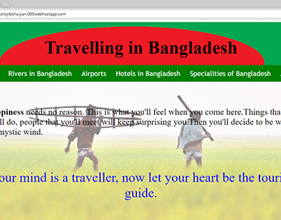 Travelling in Bangladesh Complete Website