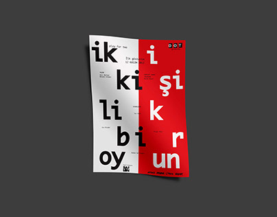 İki Kişilik Bir Oyun (Play For Two) Poster Design