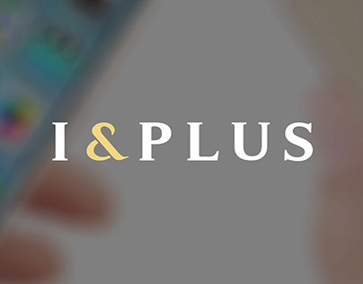 I&PLUS, the corporate identity design