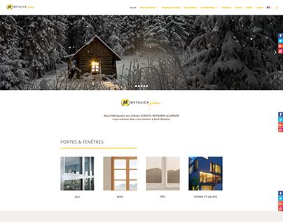 Website Metalica Home