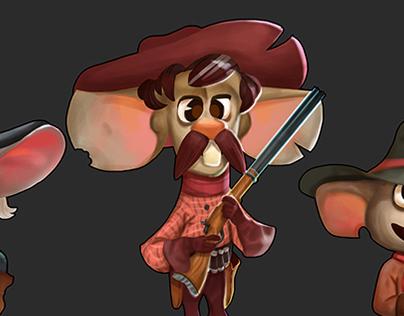 Wild West - Character design